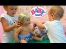 Кукла Беби Бон видео МАМА вернулась и НЕ ОДНА! Baby Born doll video play toys