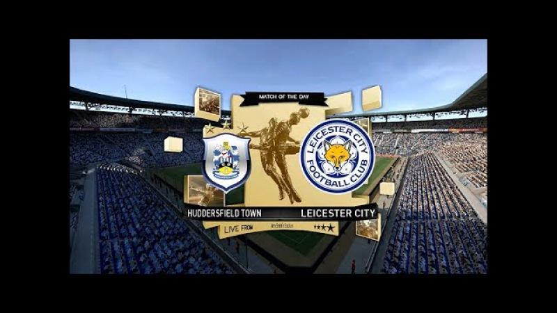 Huddersfield vs Leicester   Premier League   John Smith   PES 2017 Full HD 1080p60   Super Star