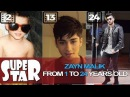 Zayn Malik Transformation From 1 To 24 Years Old - SUPER STAR
