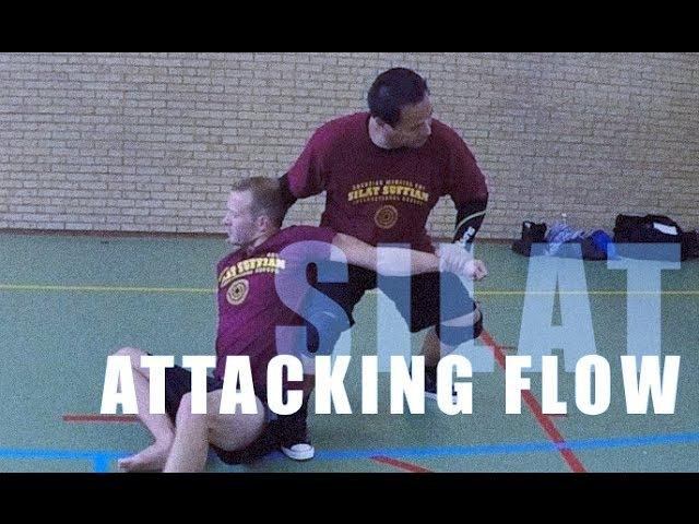 Silat Suffian Bela Diri - Attacking Flow