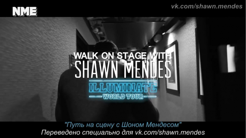 [SUBS] Walk on stage with Shawn Mendes on the opening night of his Illuminate World Tour