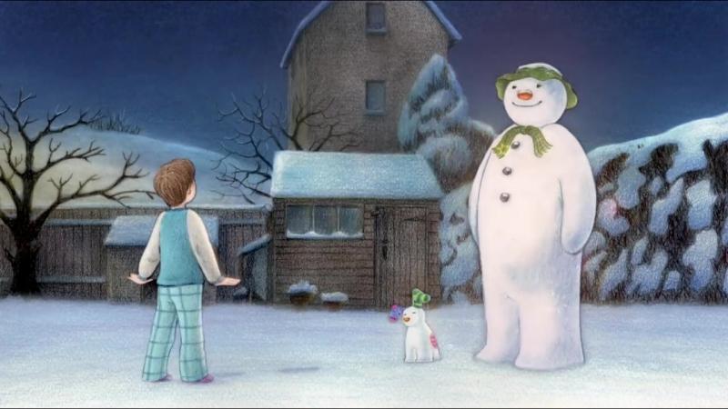 The Snowman and the Snowdog. Мультфильм (без слов).