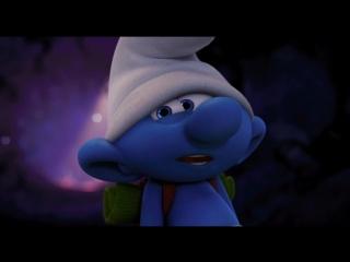Второй трейлер анимационной комедии-фэнтези #Смурфики:затерянная деревня!