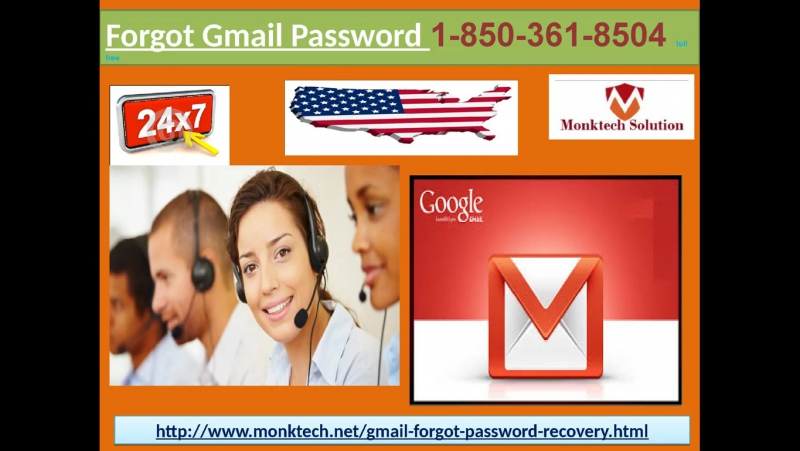 Contact Forgot Gmail Password 1-850-361-8504 team and Get Full Fletched Solutions