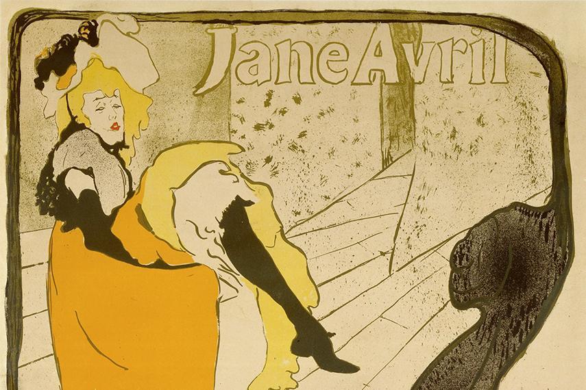 Анри де Тулуз-Лотрек – Джейн Авриль в «Жарден де Пари», 1893