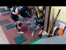 Даниель Грабовски - присед 260 кг на 10 повторов