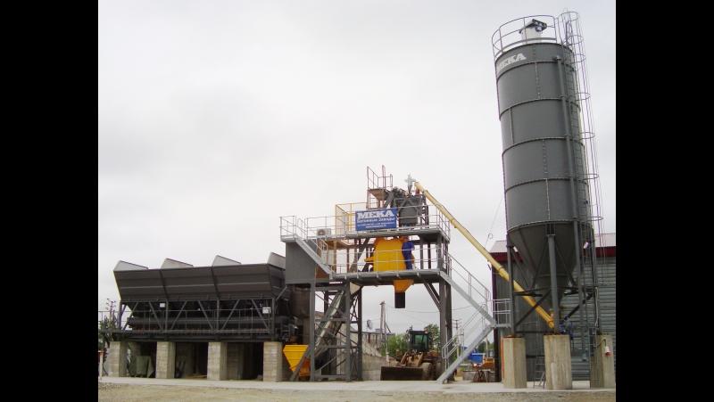 Видео от наших Заказчиков: Южно-Сахалинск, бетонный завод MEKAMIX-60 COMPACT
