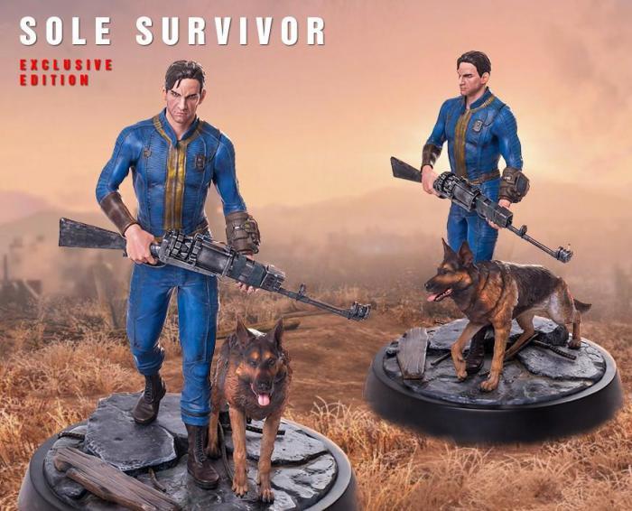 Фигурка Выжившего из Fallout4: три версии, 53 сантиметра и $400