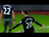 Чемпионат Англии 2016-17  Лучшие голы 25-го тура [HD 720p]