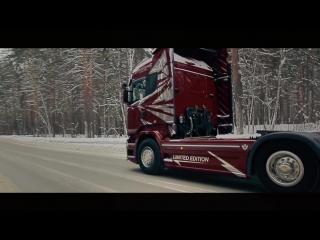 """""""Папа я скучаю"""" - Максим Моисеев и Полина Королева V8 Scania R 500 #Дальнобойщики #BlackArrow #ScaniaR #Road #ETS2MP #ETS2 #Best"""