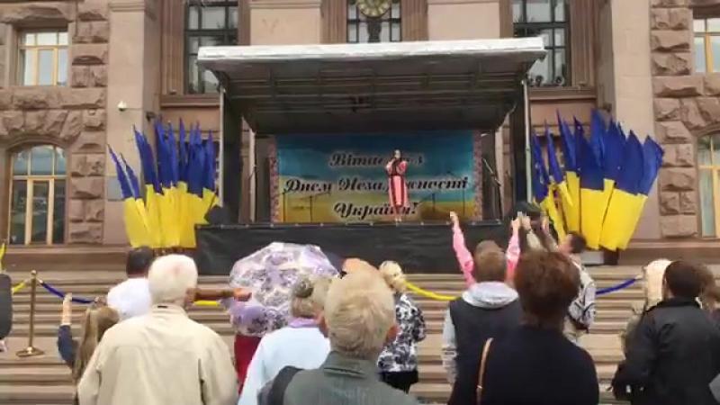 ◘ Анна Тринчер - Почни з себе, S.O.S. (День независимости Украины - 2017) ◘