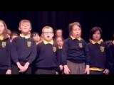 Аллилуйя _ Hallelujah в исполнении школьного хора (Killard House)