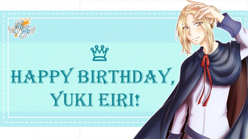 Free Flight Happy birthday Yuki Eiri 2017