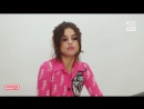 "Selena Gomez Sends Props To The ""Godfather"" & Impersonates A ""Jersey Girl"". Watch Part 1"