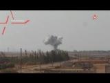 Ми-28Н «Ночные охотники» ВКС РФ испепеляют боевиков ИГИЛ в котле.