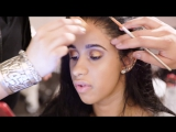 Cardi B Gets Ready for Pat McGrath's Vogueing Ball | Vogue