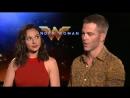 Интервью Галь Гадот и Криса Пайна для Hollywood XYZ
