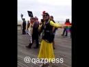 Гей из Казахстана на Гей параде в Америке