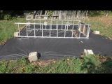 Обзор моего огорода место под бассейн, 12 августа