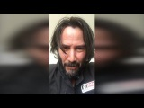 Keanu Reeves video introduction to POINT BREAK [19th August 2017]