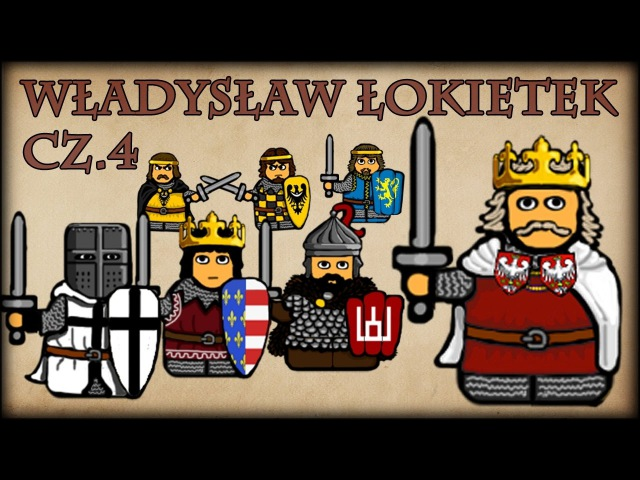 Historia Na Szybko - Władysław I Łokietek cz.4 (Historia Polski 55) (1320-1326)