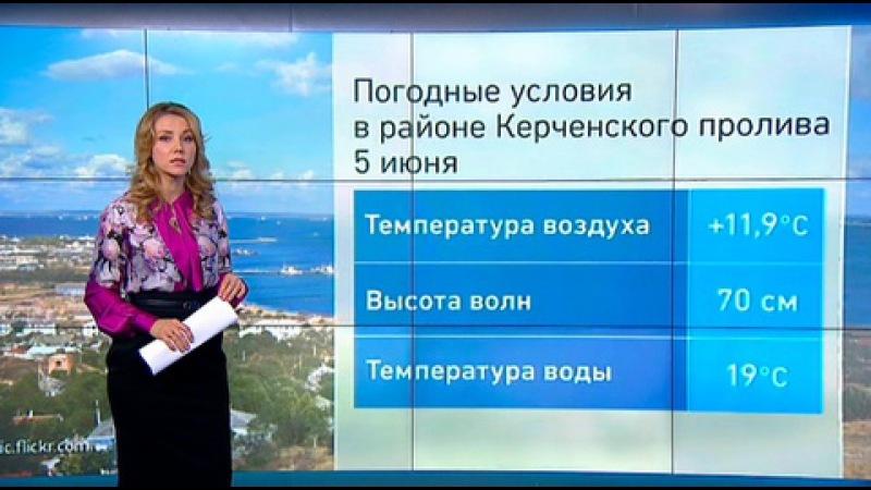 Вести.Ru: Погода 24: в Керченском проливе выловили мужчину в поясе из пластиковых бутылок