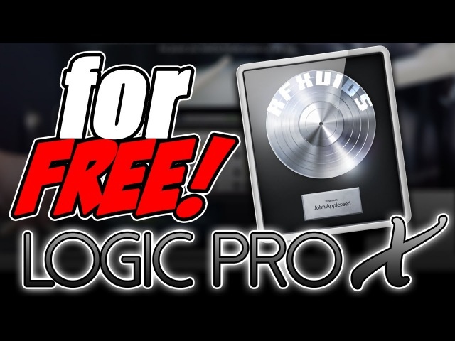 How to get Logic Pro X 10.2.0 for FREE! MAC