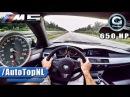 BMW M5 V10 BI-SUPERCHARGED G POWER AUTOBAHN POV by AutoTopNL