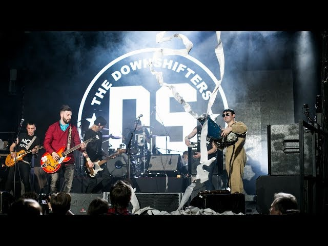 The Downshifters - Одуванчики. Awesome! Toilet Paper Gun!! TPG in action