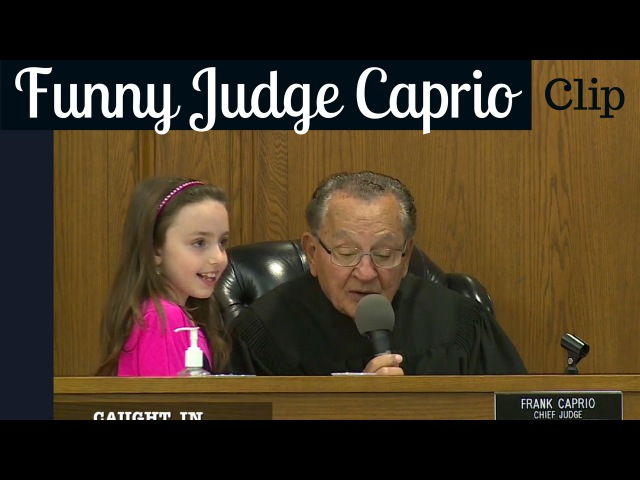 Judge Frank Caprio - Hilarious Kid's Excuse for Mom  Судья Фрэнк Каприо из Провиденс, Род-Айленд и местное шоу «Пойманный в Пров