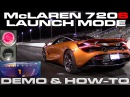 McLaren 720S Launch Control Demonstration and How-To along with 0-150 MPH Run