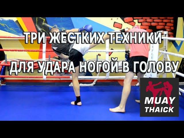 Три жестких техники для удара ногой в голову в Муай Тай, ММА и БИ nhb tcnrb[ nt[ybrb lkz elfhf yjujq d ujkjde d vefq nfq, vvf b