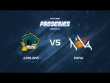 Zarlans vs NOVA, 1/4, map 2 train, SLTV ProSeries Season 17