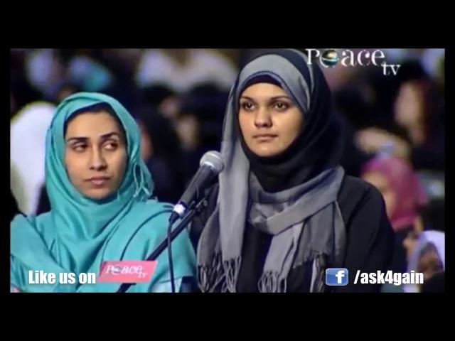 Sister Hifa Ask Can Muslim Lady give Public Talks - DR.Zakir Naik