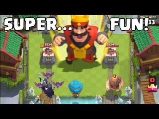 Ultimate Funny Fails Moments & Trolls Glitches Moments   Clash Royale Montage