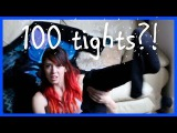 100 layers of tights | CassieEatsYou