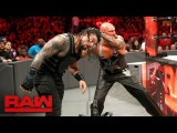 Roman Reigns vs. Luke Gallows &amp Karl Anderson - 2-on-1 Handicap Match Raw, Feb. 20, 2017
