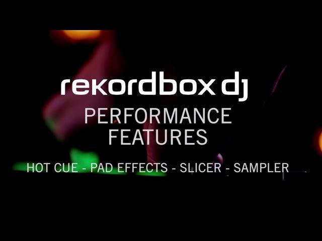 Rekordbox dj - горячие точки, эффекты пэдов, slicer, семплер