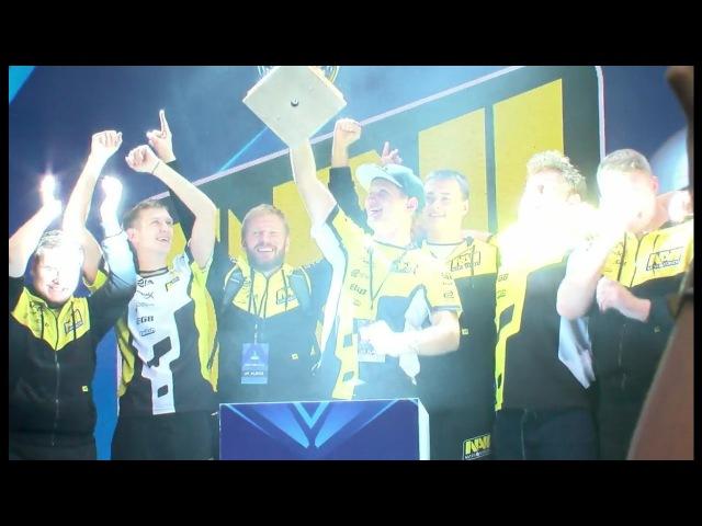 Na`Vi winning moment over Virtus.pro @ ESL ONE New York 2016