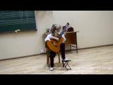 Екатерина Нагирняк. Первый отчетный концерт в музыкальной школе 27-го декабря, 2013.