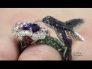 HOPI The Hummingbird ring Blue sapphire by Boucheron