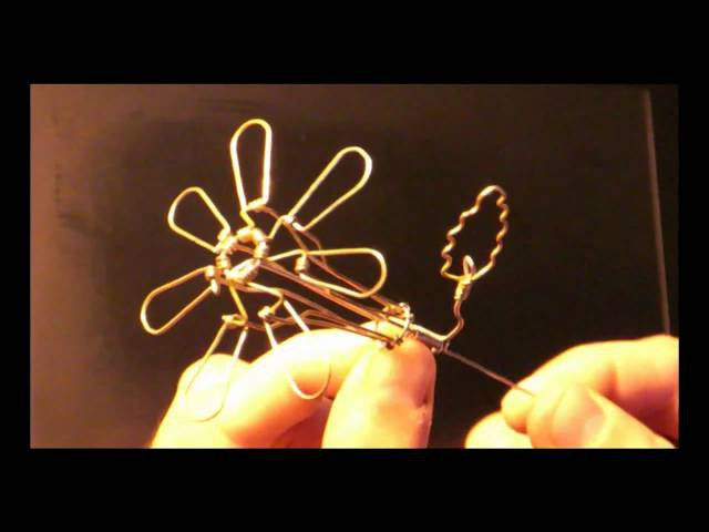 A Kinematic Wire Flower