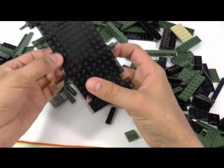 COBI WORLD OF TANKS WOT танк KV-2 КВ-2 ЛЕГО LEGO совместимый набор 3004 Обзор [музей GameBrick]