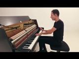 Петер Бенце. на пианино композиция Sia - Cheap Thrills