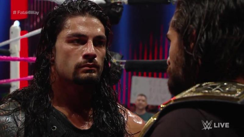 WWE.COM RAW: No. 1 Contender's Fatal 4-Way Match (10/26/2015)