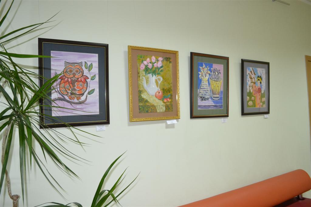 Выставка «Детские фантазии»