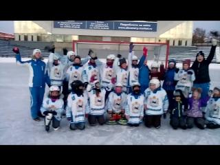 Моя команда по хоккею с мячом Мы любим хоккей!!¡!¡