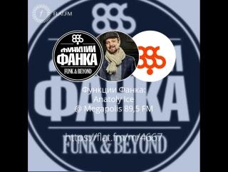 Функции Фанка: Anatoly Ice @Megapolis 89,5 FM 16/07/2017