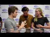 › 60 секунд с Лили и Коулом на конвенции WonderCon (русские субтитры)