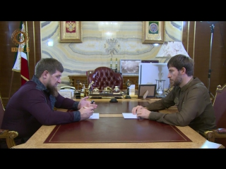 Встреча с Председателем Правительства ЧР
